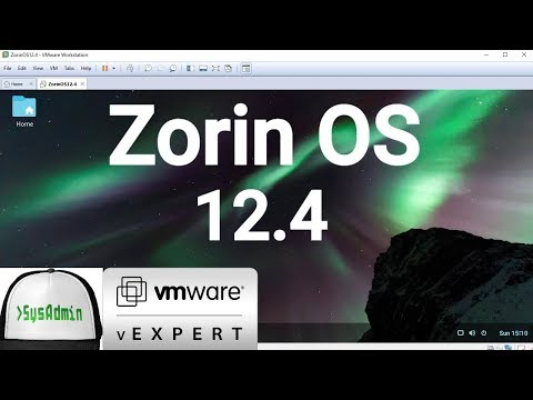 How to Install Zorin OS 12.4 + VMware Tools + Review on VMware Workstation [2018]