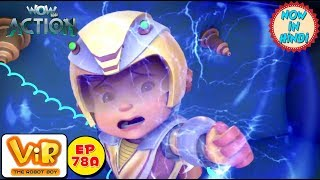 Vir: The Robot Boy | Invisible Power Attack | As Seen On HungamaTV | WowKidz Action