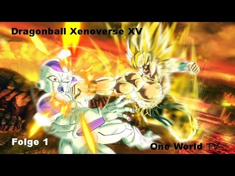 Dragonball Xenoverse Folge 1 Let´s Play Deutsch PC