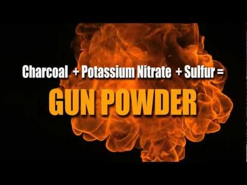 The Chemistry of Gun Powder: What Makes It Burn So Fast