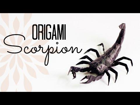 Origami Scorpion Tutorial (Tadashi Mori)