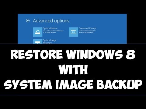 Restore Windows 8/8.1 with System Image Backup using Windows DVD