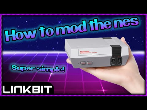 How to mod your mini nes SUPER SIMPLE!!