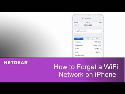 How to Forget a WiFi Network on iPhone | NETGEAR