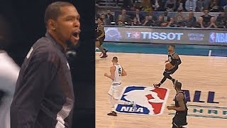 Entire Team LeBron Goes Crazy After Damian Lillard Shocks Crowd With Deep Shots! 2019 All-Star Game