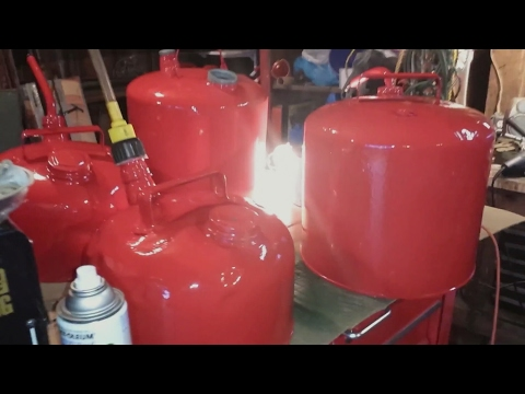 Saving More Old Gas Cans