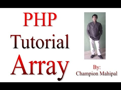 Learn PHP Tutorial 16 Array and different way to create array