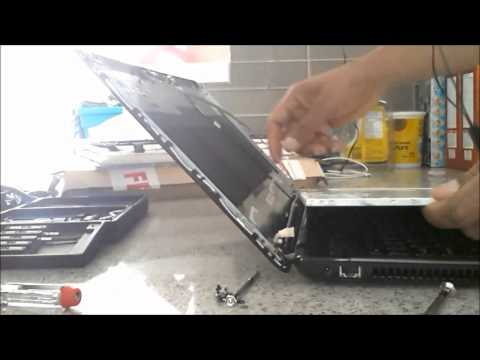 Laptop screen replacement / How to replace laptop screen [Acer Aspire 5750G-6653]