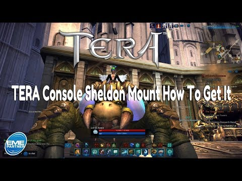 TERA Console | Sheldon The Unified Theory Mount | How To Get It
