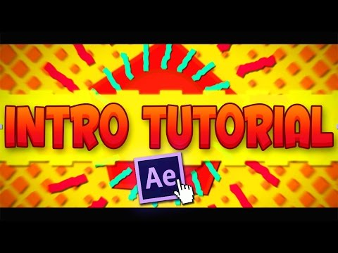 [TUTORIAL] After Effects Easy 2D Animated INTRO For FREE! (All Versions) - Step By Step! 2016