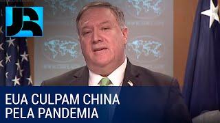EUA voltam a culpar a China pela crise do coronavírus