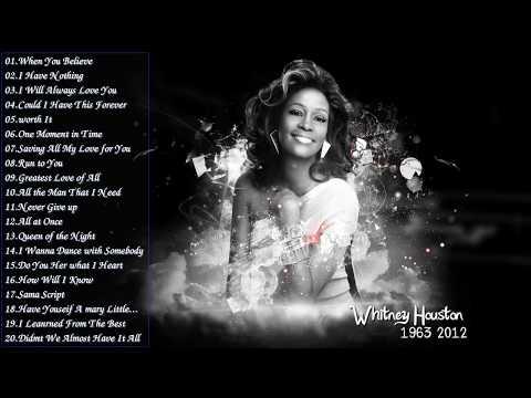 Best Songs Of Whitney Houston - Whitney Houston Greatest Hits Playlist 2017