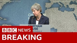 Download Theresa May's last big speech as PM - BBC News Video