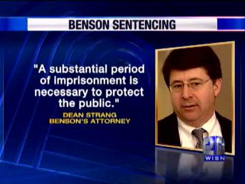Benson Writes 8-Page Letter To Judge