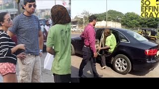THE BEGGAR WHO OWNS AN AUDI CAR (Prank) Shocking Reactions