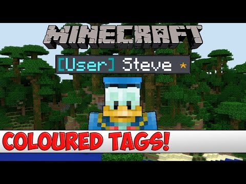 Minecraft Plugin Tutorial - Coloured Tags