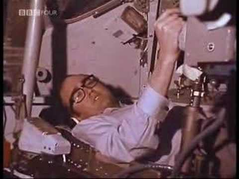 James Burke takes us Inside an engineering replica the Apollo Command Module