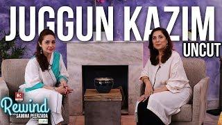 Juggun Kazim on Rewind with Samina Peerzada | Marriage | Divorce | Abuse | Full Episode