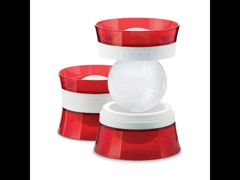 Zoku Ice Ball Molds For Cocktails / Punch Bowl