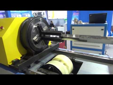 JQ 6020 Automatic tube cutting machine cut square pipe for furniture