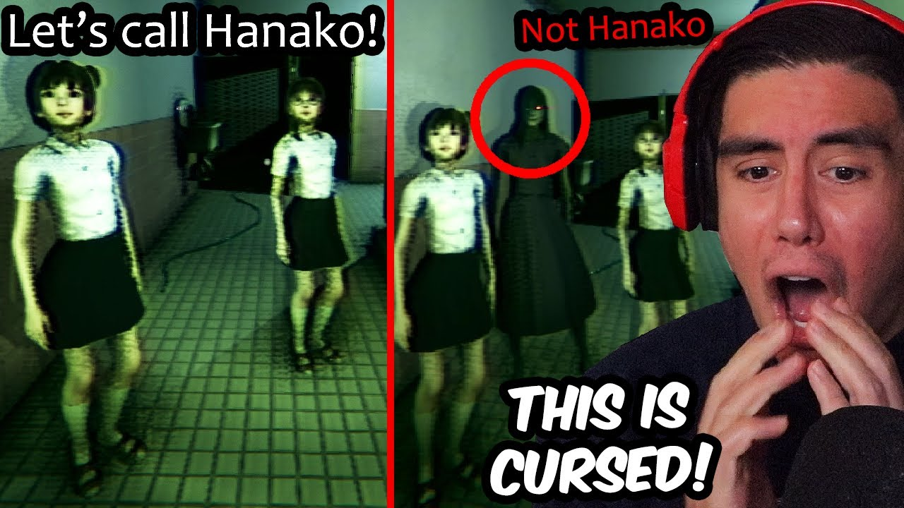 3 JAPANESE GIRLS TRY TO SUMMON A SPIRIT IN A BATHROOM..WHAT COULD GO WRONG?!   Hanako (Full Game)