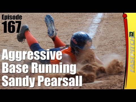 Aggressive Fastpitch Softball Base Running - Sandy Pearsall