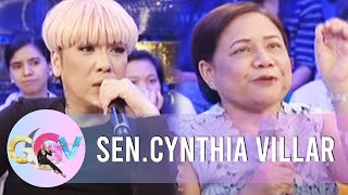 GGV: The reason why Sen. Cynthia doesn't use phones