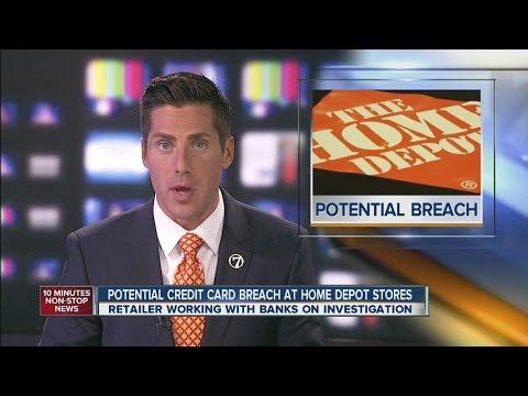 Credit card hacks at Goodwill and Home Depot