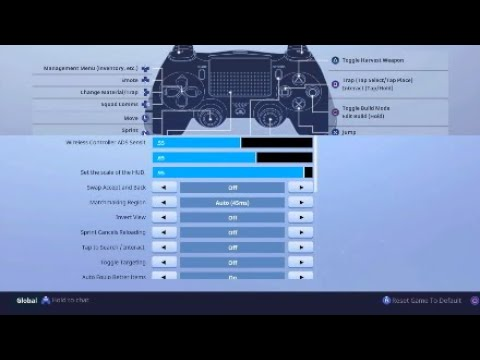 - ninja fortnite sensitivity settings
