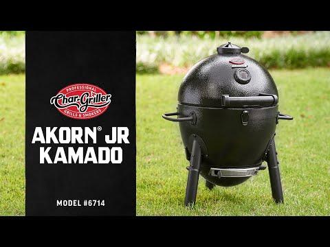 Char-Griller AKORN® JR. Kamado Grill and Smoker