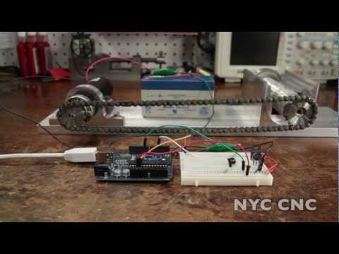Control a DC Motor with Arduino and Transistor!  How-To Tutorial from NYC CNC