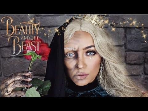 Halloween Tutorial: Old Woman/Enchantress from Beauty & the Beast | Stephanie Ledda