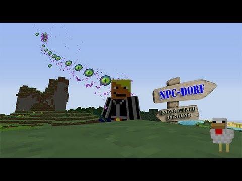 Minecraft Ender-Portal im Survival Mode finden!