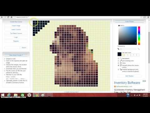 How to make an IMAGE into your cursor (No Software)