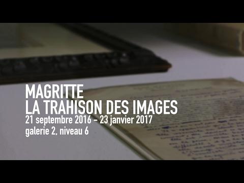 René Magritte, La trahison des images | Exposition | Centre Pompidou