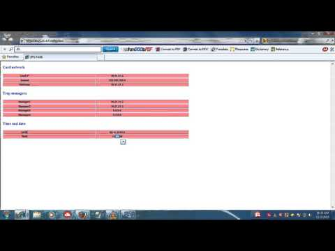 5 KVA ONLINE  UPS TRITRONICS SNMP Card Configuration BY ANIL KUMAR SAHU