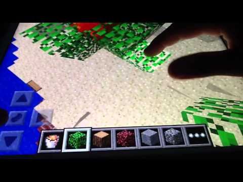 How to make fire in minecraft pe in creative mode. The easy way