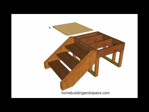 How To Build and Frame Stairs With Brackets – Example 1
