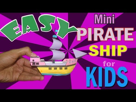 How to Make Cardboard Mini Ship for Kids| Cardboard Ship Tutorial for Kids