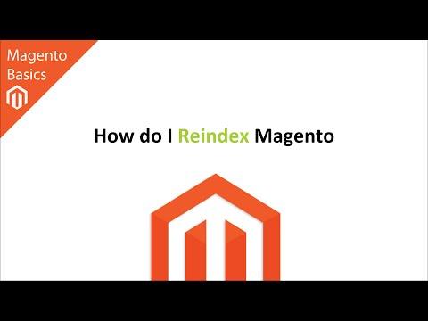 How do I Reindex Magento?