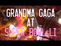 Grandma Gaga at Lady Gaga's Super Bowl 51 Halftime Show