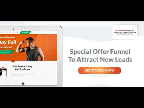 Fitness Business Marketing 101 - How to Generate Leads And Sales With Funnels Today!