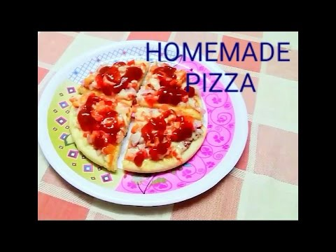 HOMEMADE PIZZA WITHOUT OVEN IN MARATHI AND ENGLISH