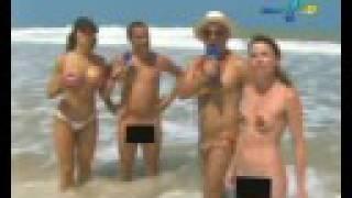 Panico na praia de nudismo not doubt