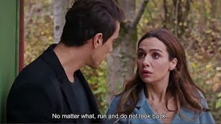 Ferhat going to In-LAWS with Asli (eng sub) | Seyah Beyaz