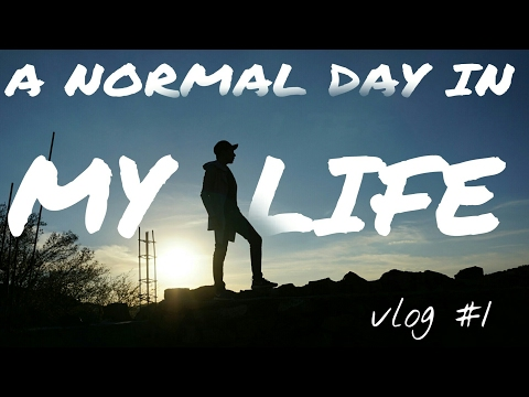 A NORMAL DAY IN MY LIFE / halfVLOG #1
