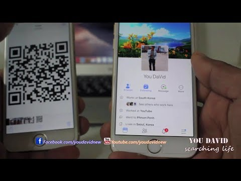 How to Scan or Save QR Code Facebook