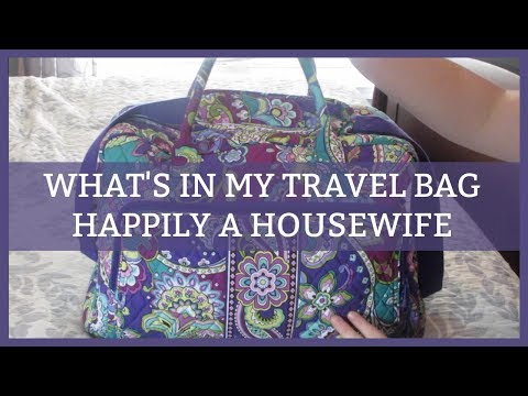 WHAT'S IN MY TRAVEL BAG   MAKEUP AND MORE
