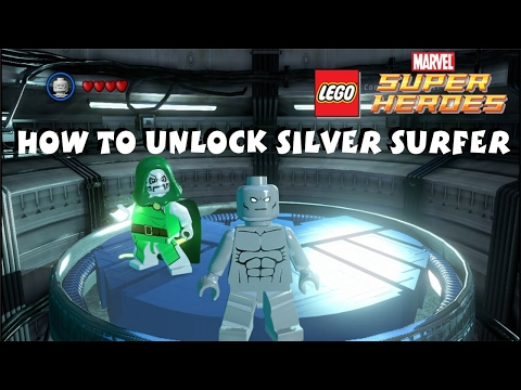 How to Unlock Silver Surfer - Lego Marvel Super Heroes 1080P HD (Updated)