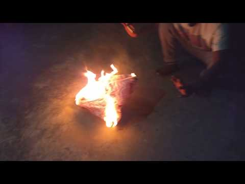 How to Make Hot Air Balloon (FIRE BALLOON) with Newspaper in 1 minute